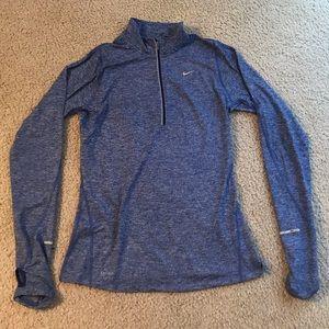 Blue Nike Dri Fit pullover